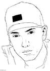 Coloriage Eminem