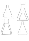 Coloriages Erlenmeyer