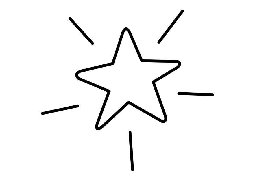 coloriage étoile  img 22742