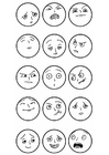 Coloriage expressions