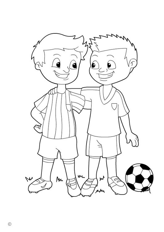Coloriage Sport Foot.Coloriage Fair Play Img 26144 Images