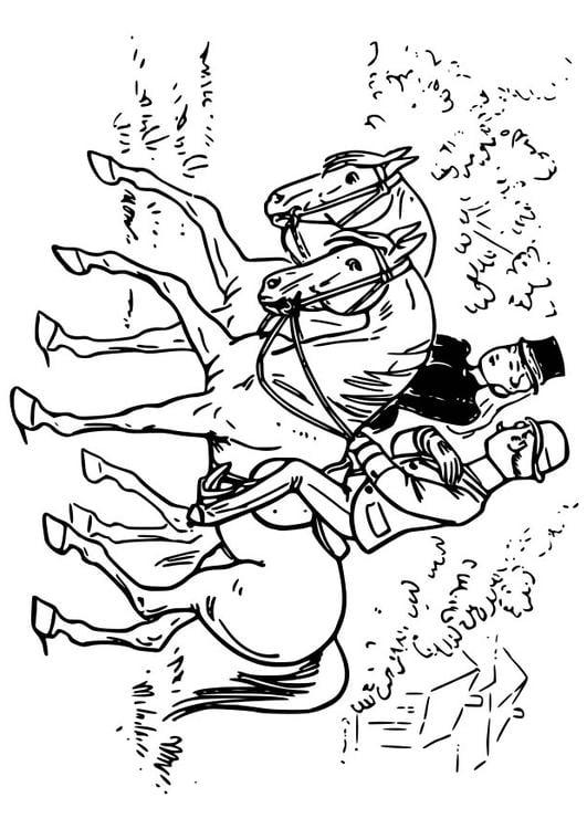 Coloriage faire de l 39 quitation img 18570 - Coloriage equitation ...