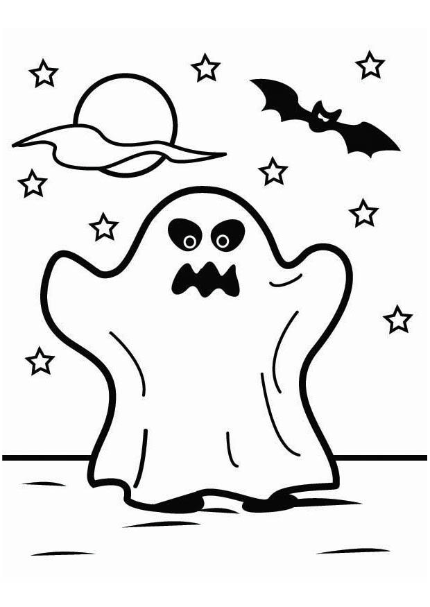 Coloriage fant me d 39 halloween img 26451 - Coloriage fantome halloween ...