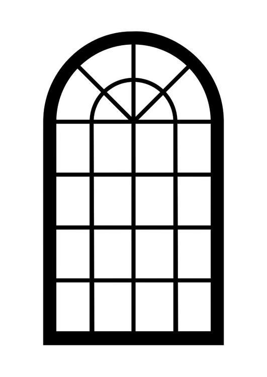 Coloriage fen tre img 29937 for Fenetre ouverte dessin
