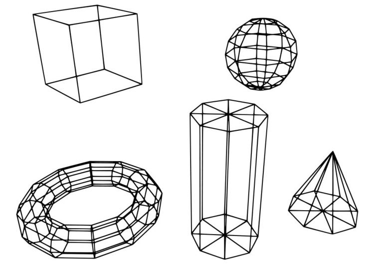 Coloriage Figures Geometriques Coloriages Gratuits A Imprimer Dessin 18724