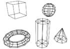 Coloriage figures géométriques