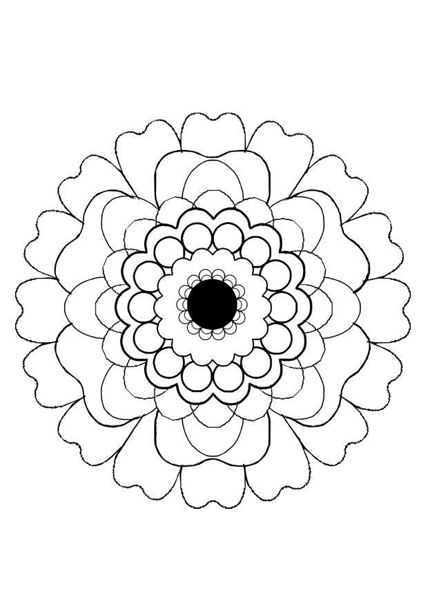 coloriage fleur  coloriages gratuits à imprimer  dessin