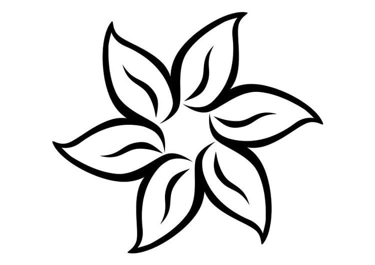 Coloriage fleur - Coloriages Gratuits à Imprimer