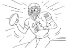 Coloriages football américain