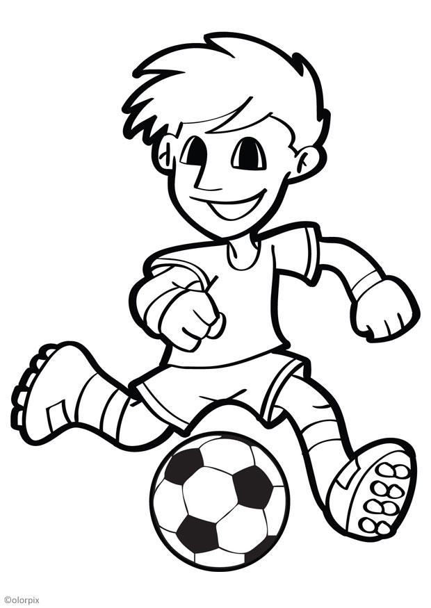 Coloriage Sport Foot.Coloriage Football Img 26040 Images