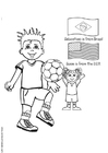 Coloriages football