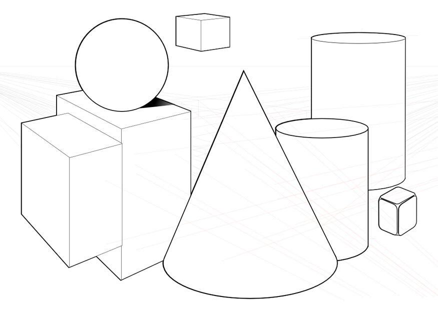 coloriage formes geometriques i