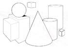 Coloriage Formes géometriques