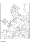 Coloriages Fragonard