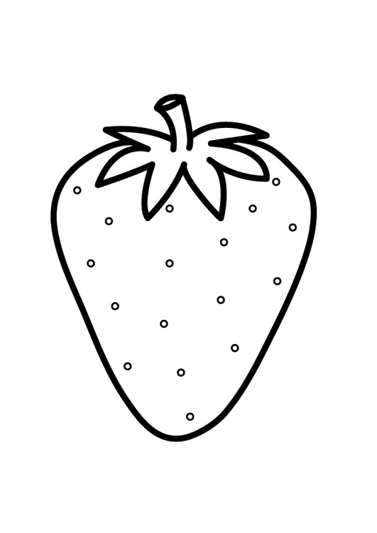 Coloriage Fraise Img 23174 Images