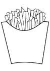 Coloriage frites