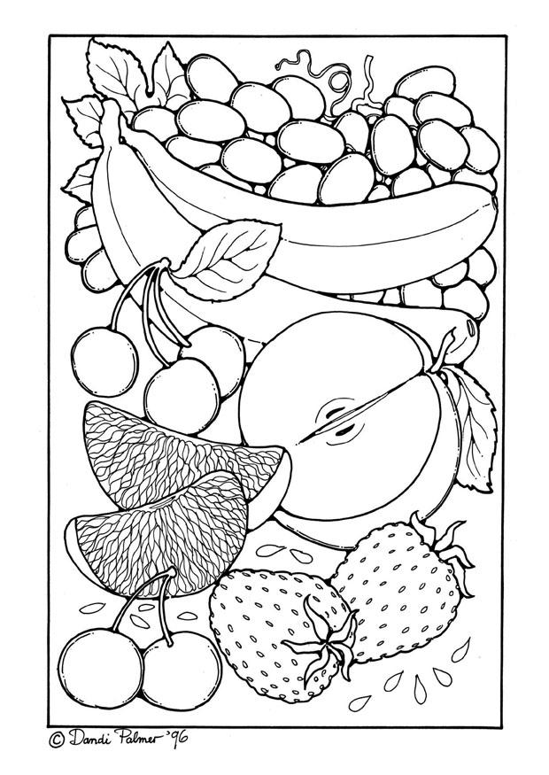Coloriage Fruit Coloriages Gratuits A Imprimer