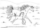 Coloriage galop