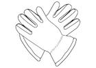 Coloriage gants