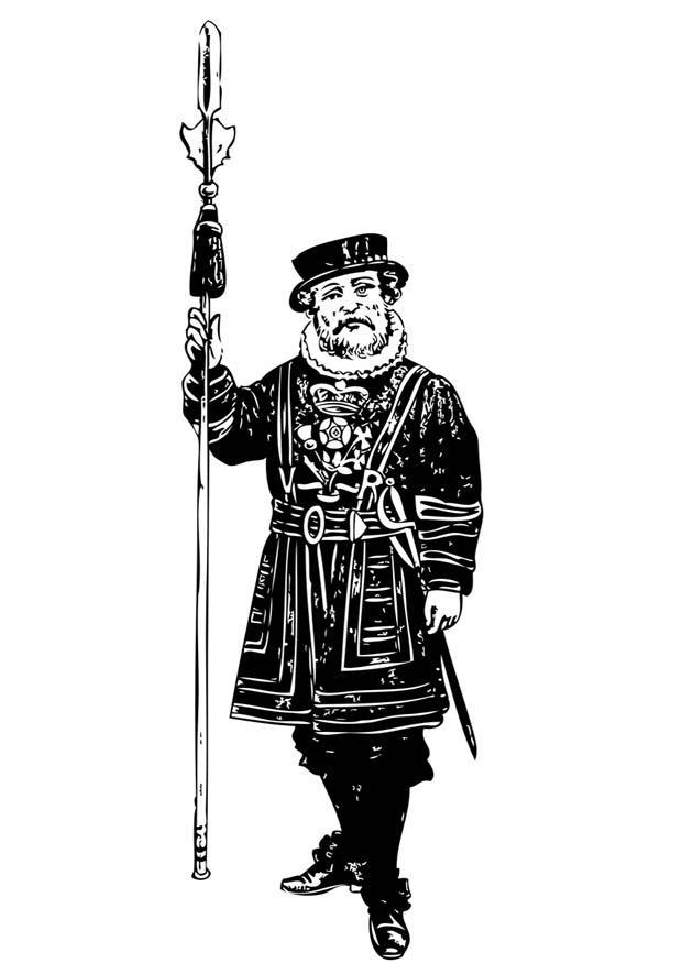 Coloriage Garde Tour De Londres Coloriages Gratuits A Imprimer Dessin 17084