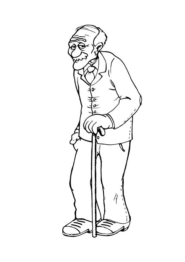 Coloriage grand p re img 23106 - Coloriage grand ...