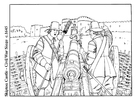 Coloriage guerre civile