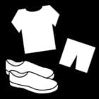 Coloriage habits de gymnastique