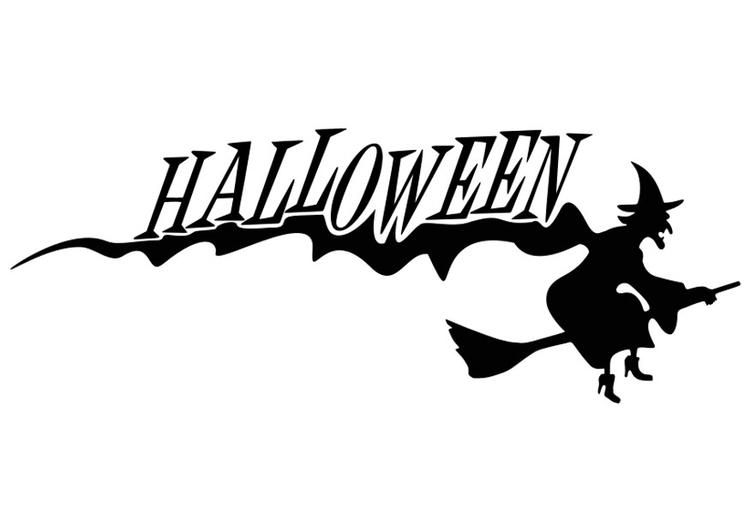 Coloriage halloween sorci re img 19737 - Dessin sorciere halloween ...