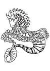 Coloriage hippocampe