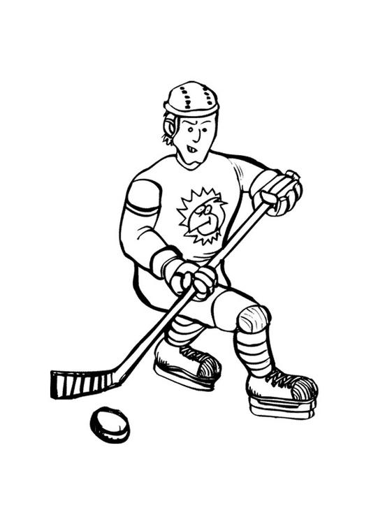 Coloriage Hockey Sur Glace Coloriages Gratuits A Imprimer