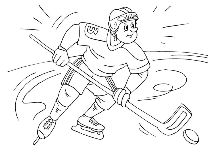 Coloriage Hockey.Coloriage Hockey Sur Glace Img 25984