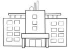 Coloriage hôpital