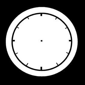 Coloriage horloge vide img 14214 - Mecanismo para reloj de pared ...