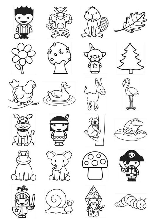Coloriage Icones Pour Enfants Coloriages Gratuits A Imprimer Dessin 21103