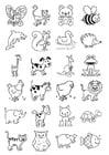 Coloriage icônes pour les tout-petits