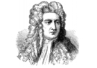 Coloriage Isaac Newton