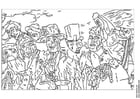 Coloriage James Ensor