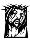 Coloriage Jésus