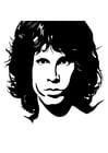 Coloriage Jim Morrison