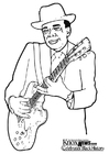 Coloriages John Lee Hooker