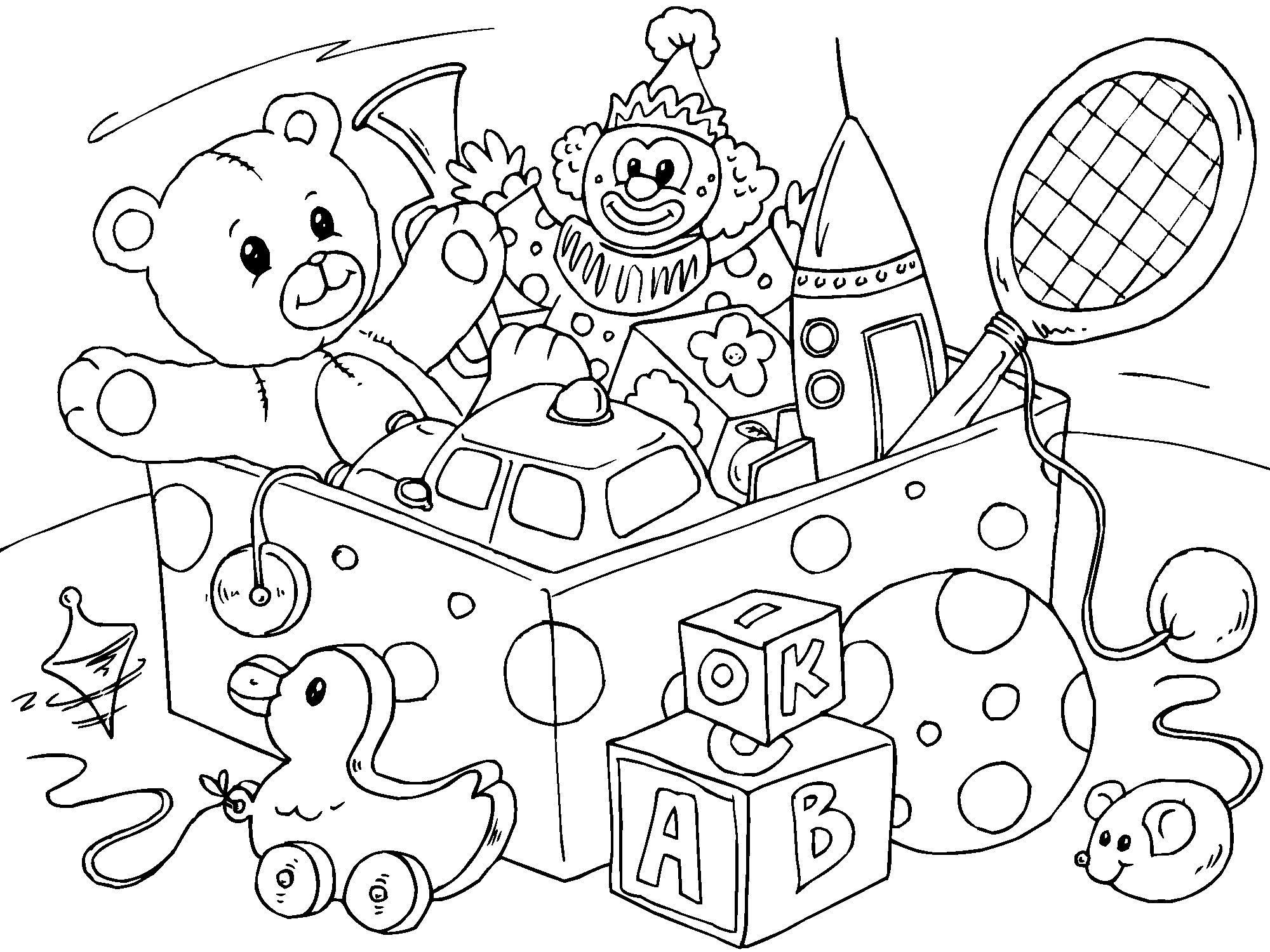 Coloriage jouet img 22821 - Coloriage minnie jouet ...