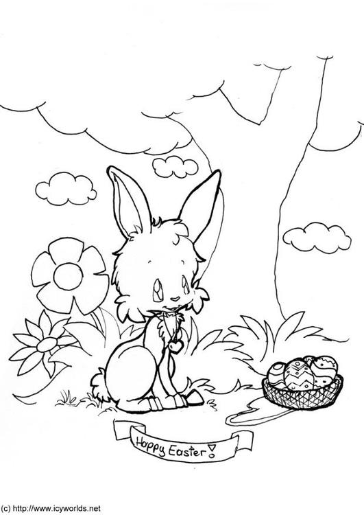 Coloriage Joyeuses Pâques Img 6081