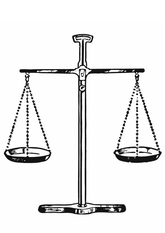 Coloriage juge balance de la justice img 13285 images - Dessin de balance ...