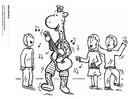 Coloriage Jules et ses amis jouent de la musique