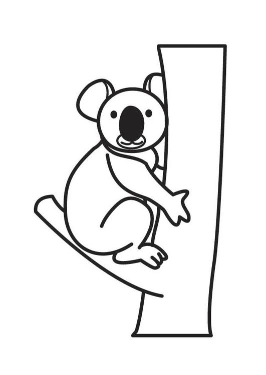 Coloriage Koala Coloriages Gratuits A Imprimer