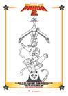 Coloriage Kung Fu Panda 2