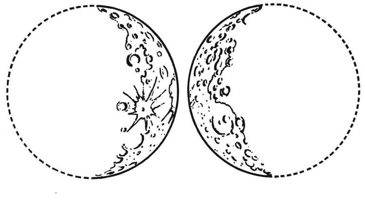Coloriage la lune cro t et d cro t img 15702 - La lune coloriage ...