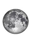 Coloriage la lune