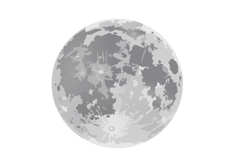 Coloriage la pleine lune img 10188 - La lune coloriage ...