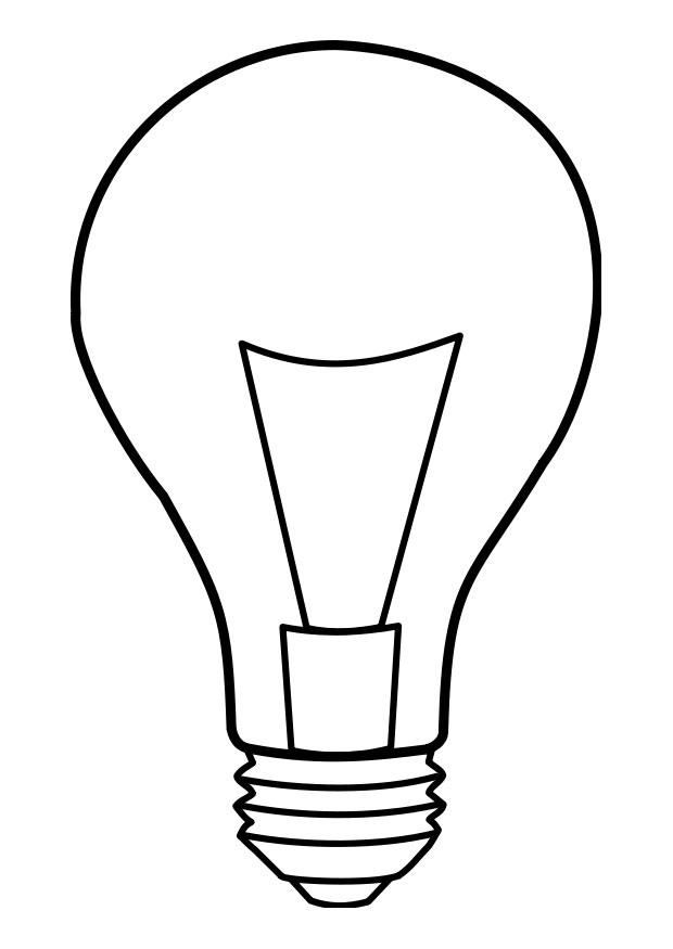 Coloriage lampe img 22859 - Coloriage lampe ...
